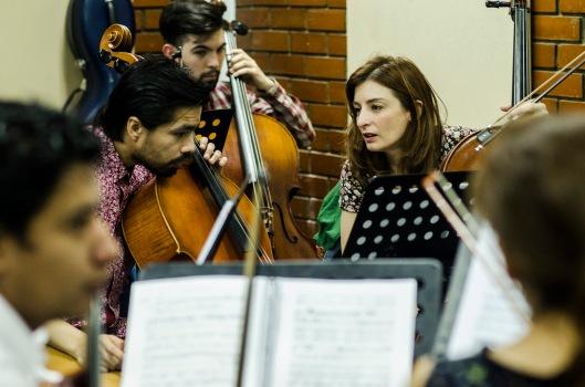 Orquesta académica de la UNA